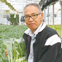 「季節しずく」野菜人銘鑑・中村弘幸 小松菜