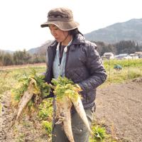 アイスタイルデザイン「季節誌しずく」新城市 サムサラ自然農園 市村 美奈子さん